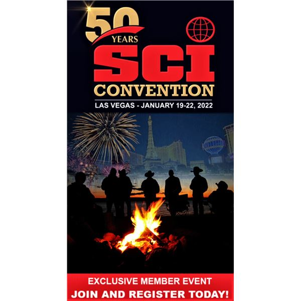 SCI & SCI Alaska Chapter Life Membership, includes 2 4 Day SCI 50th Anniversary Convention Passes