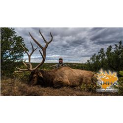 New Mexico: 5 Day Elk and Bear Combination Muzzle loader or rifle hunt for 2 hunters.