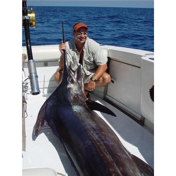 Mexico: 7 Day Roosterfish, Blue Marlin & Sailfish Fish Slamming Safari for 1 Angler