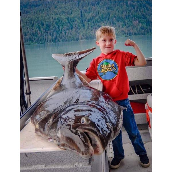 Seward Alaska: Full Day Private Party Combo Fishing Trip for 6 Anglers