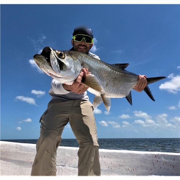 Mexico: 3 Day 4 Night Tarpon Fishing Trip for 2 Anglers in the Yucatan Peninsula's Campeche flats
