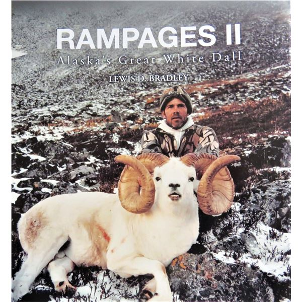 RAMPAGES ALASKA'S GREAT WHITE DALL SHEEP 3 Volume Set Collector's Edition. $340 Buy It Now!