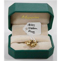 18 KT GOLD ITALIAN MADE RING