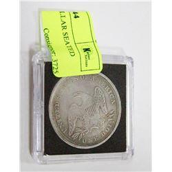 1844 US SILVER DOLLAR SEATED LIBERTY