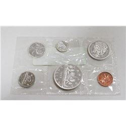 1962 CANADA PROOF COIN SET WITH SILVER