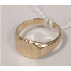 GOLD CHILDS SIGNET RING