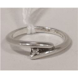 925 STERLING RING WITH CUBIC