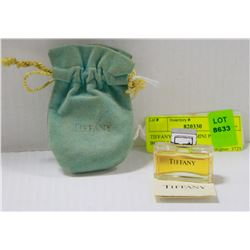 TIFFANY AND CO. MINI PERFUME BOTTLE WITH BAG