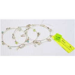 HOLT RENFREW STERLING SILVER 3 BRACELET SET