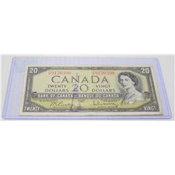 1954 CANADIAN $20 BILL