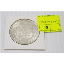 1921 SILVER MORGAN DOLLAR COIN IN HOLDER