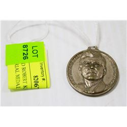 JFK AND ROBERT KENNEDY 1963 MEMORIAL MEDAL