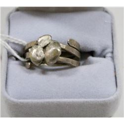 925 SILVER COIL RING
