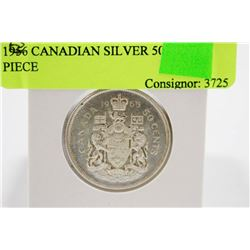 1956 CANADIAN SILVER 50 CENT PIECE