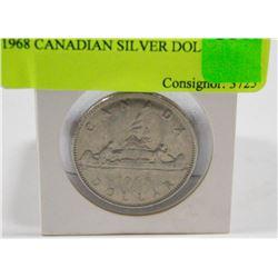 1968 CANADIAN SILVER DOLLAR