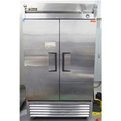 True T-43 Two Section Reach-In Refrigerator (contents not included)