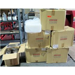 Qty 5 Box Erremme SRL 06034 Ice Cream Packages & Box Metal Bins