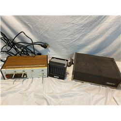 BC tel box, Dynaco and other misc.