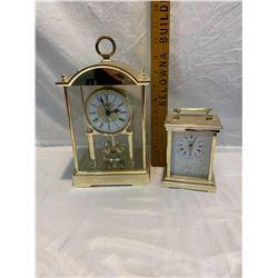 Bulova and quartz clocks