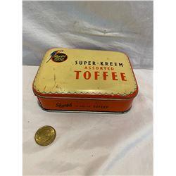 Sharps toffee tin