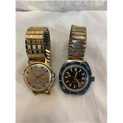 2 Timex watches