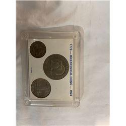 Bicentennial coins USA