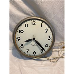 Westclox electric clock