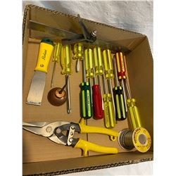 Box screwdrivers ect