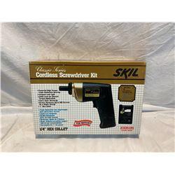 Skil cordless screwdriver set