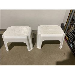 2 step stools
