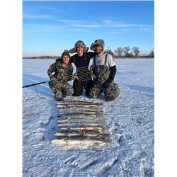 NORTH DAKOTA- 3 DAY PIKE SPEARING & WALLEYE FISHING FOR 2 ANGLERS