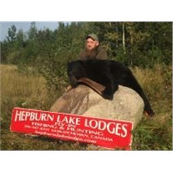 SASKATCHEWAN – BLACK BEAR HUNT OVER BAIT FOR ONE HUNTER