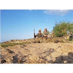 MOZAMBIQUE - 10 DAY NILE CROCODILE HUNT FOR 1 HUNTER