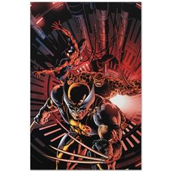 """Marvel Comics """"New Avengers #11"""" Numbered Limited Edition Giclee on Canvas by Mi"""