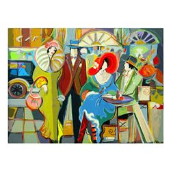 "Isaac Maimon, ""Cafe Society"" Limited Edition Serigraph, Numbered and Hand Signed"