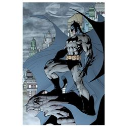 "DC Comics, ""Batman #208"" Numbered Limited Edition Giclee on Canvas by Jim Lee wi"