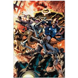 "Marvel Comics ""Ultimate Doom #1"" Numbered Limited Edition Giclee on Canvas by Br"