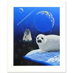 """Our Home Too IV (Seals)"" Limited Edition Serigraph by William Schimmel, Numbere"
