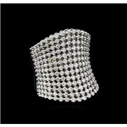 2.50 ctw Diamond Ring - 14KT White Gold - 14KT White Gold