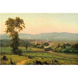 George Inness - The Lackawanna Valley