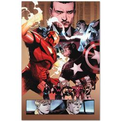 """Marvel Comics """"New Avengers #48"""" Numbered Limited Edition Giclee on Canvas by Bi"""