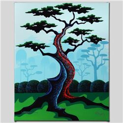"""""""Japanese Garden"""" Limited Edition Giclee on Canvas by Larissa Holt, Numbered and"""