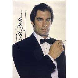 James Bond 007 Timothy Dalton Signed Photo