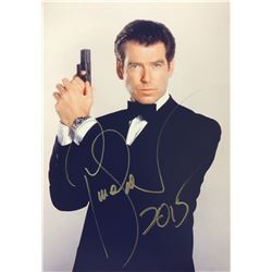 James Bond 007 Pierce Brosnan Signed Photo
