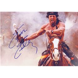 Rambo Sylvester Stallone Signed Photo