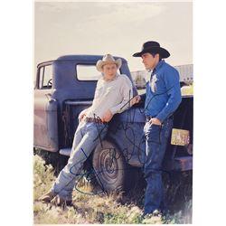 Brokeback Mountain Heath Ledger Signed Photo