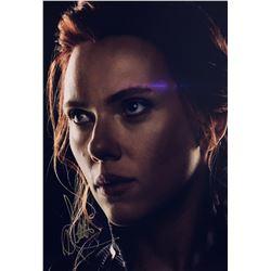 Avengers Endgame Scarlett Johansson Signed Photo