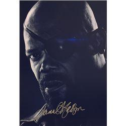 Avengers Endgame Samuel L Jackson Signed Photo