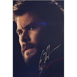 Avengers Endgame Chris Hemsworth Signed Photo