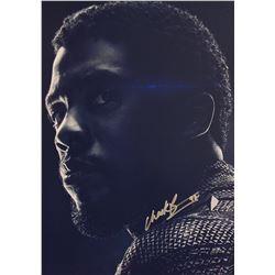 Avengers Endgame Chadwick Boseman Signed Photo